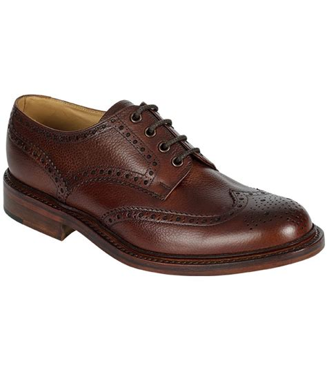 Mens Handmade Shoes Uk - hoggs carnoustie leather sole by hoggs of fife handmade