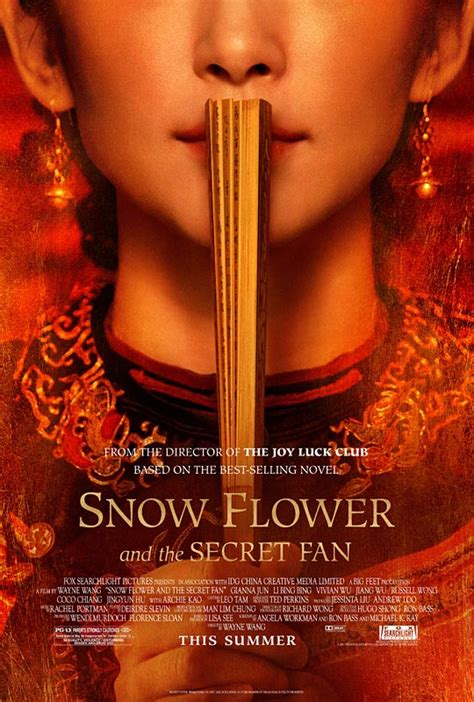 Snow Flower And The Secret Fan Books Into Films