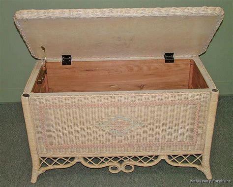 5375 henry link wicker cedar chest ebay