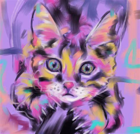 modern cat cat paintings of cats cat gallery go ken