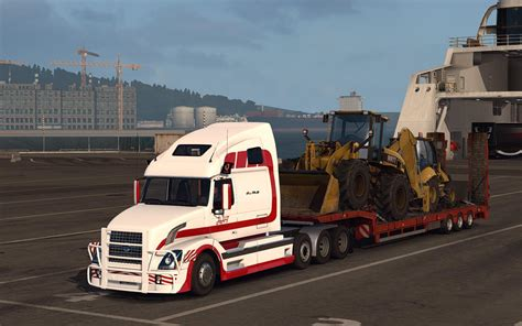 truck on volvo vnl670 v1 4 3 for ets2 truck truck simulator 2