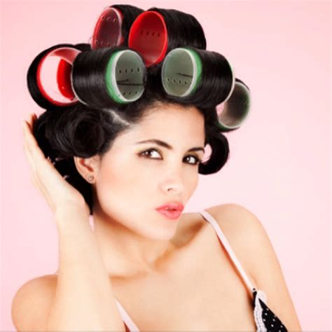 how to put rollersin extra short hair how to put rollersin extra short hair sponge rollers on