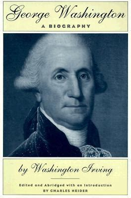 biography george washington video george washington a biography by washington irving