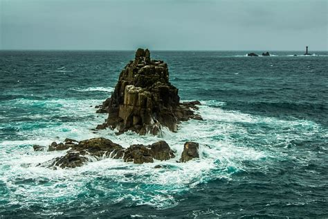 rock the boat ocean free photo ocean rock waves wind stormy free image