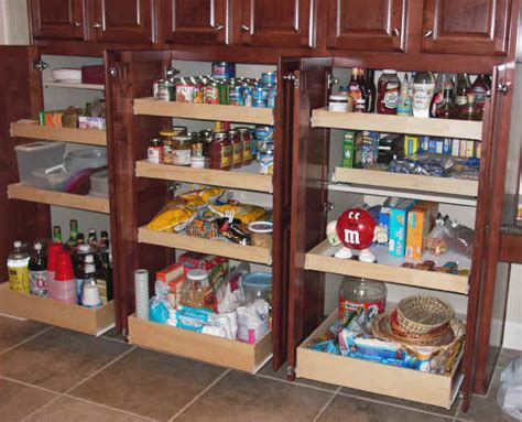 Kitchen Pantry Storage by Kitchen Pantry Cabinet Pull Out Shelf Storage Sliding Shelves