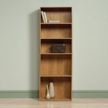 sauder beginnings 5 shelf bookcase soft white walmart