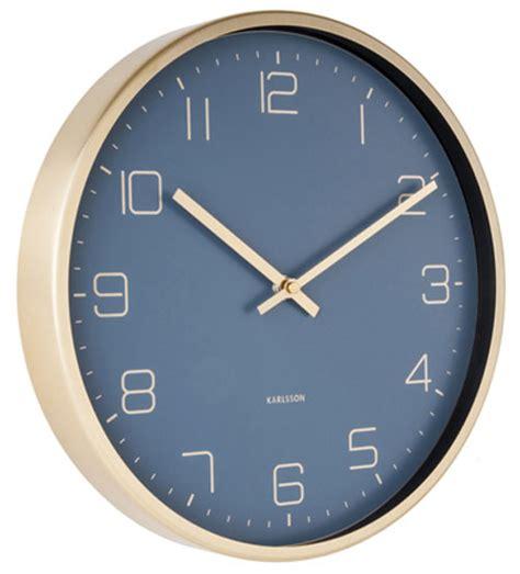 Uhr Karlsson by Karlsson Ka5720bl Wanduhr Bei Uhren4you De