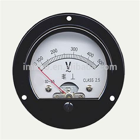 Voltmeter Analog panel meter analog voltmeter so 65 panel analog dc voltmeter buy panel analog dc