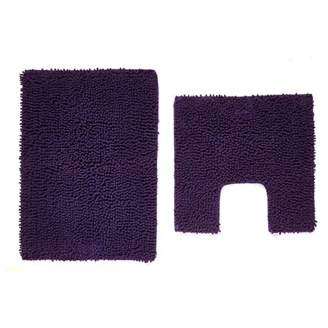 Bath Pedestal Mats by Wilko Pedestal And Bath Mat Set Violet