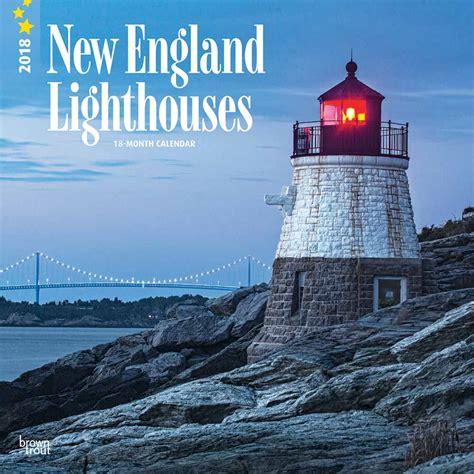 New England Lighthouses Calendar 2018