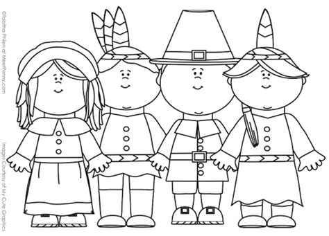 free thanksgiving for kindergarten coloring pages