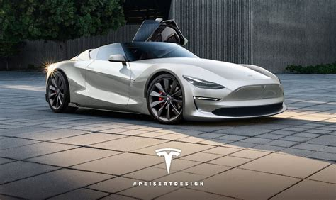 tesla roadster concept 2019 tesla roadster rendered on toyota ft 1 concept skeleton