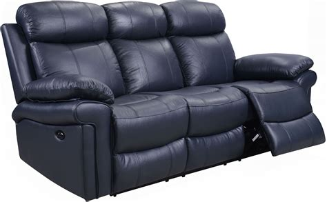 black and white leather reclining sofa navy blue reclining sofa navy blue leather reclining sofa
