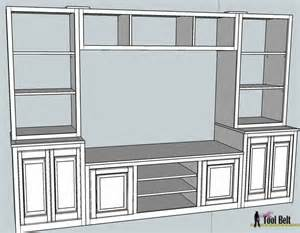 wall unit plans 25 best ideas about diy entertainment center on pinterest diy tv stand tv stands and