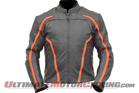 sport motorcycle jacket aeromoto sport air leather motorcycle jacket review