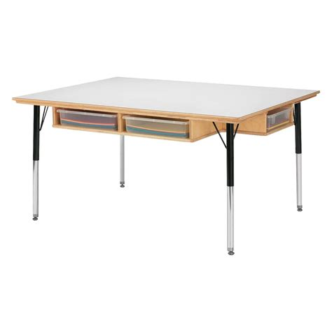 and craft table jonti craft table with storage classroom tables and