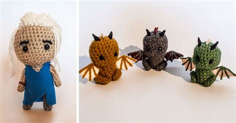crochet pattern video game i crochet game of thrones characters bored panda
