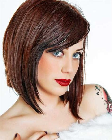 medium haircuts for thick hair 2016 medium length bob hairstyles with bangs 2016 style