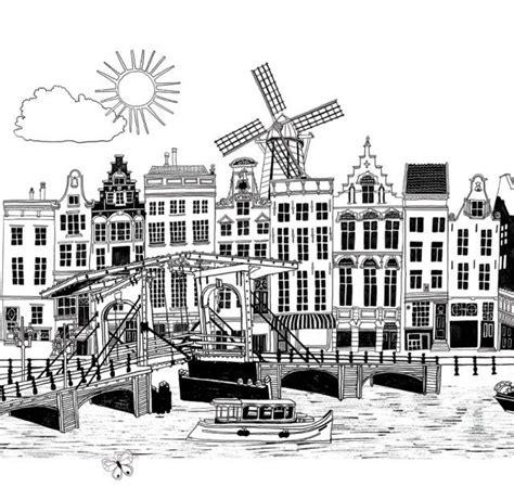 Amsterdam Noir Et Blanc by Amsterdam Hennie Haworth Nederland In Zwart Wit Les