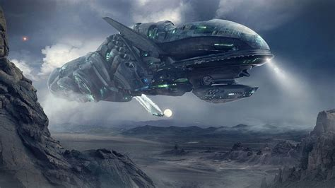 Passengers Movie Online Free abandoned alien spaceship in 4k youtube