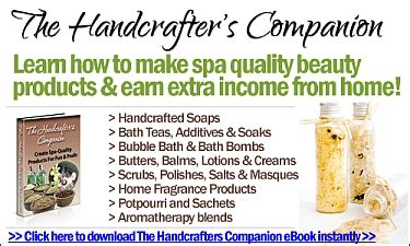 The Handcrafters Companion - milk bath recipes using goat milk