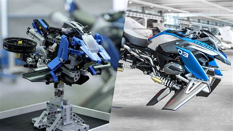 bmw creates fantastic flying motorcycle concept inspired