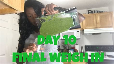 Green Juice Detox Results by Did I Lose Weight On The 10 Day Green Smoothie Cleanse