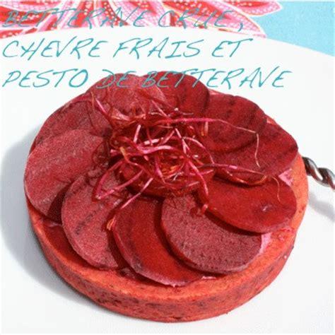 cuisiner la betterave crue recette tarte 224 la betterave crue ch 232 vre frais et