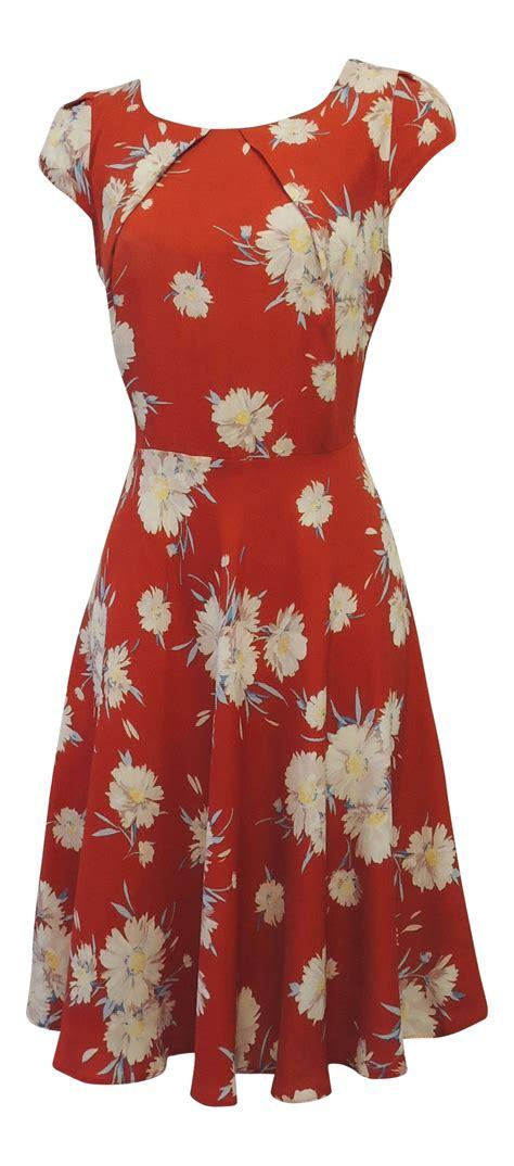 Pattern For Vintage Tea Dress | new vintage nostalgia 1930 s 1940 s ww2 style wartime