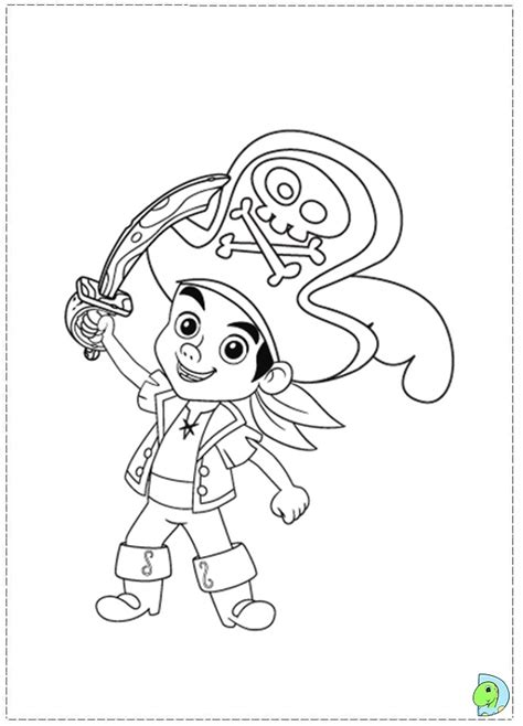 Jake And The Neverland Pirates Color Pages Az Coloring Pages Jake Neverland Coloring Pages
