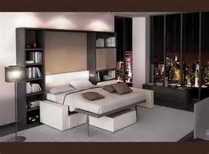 le lit escamotable une solution gain de place espace lit