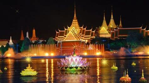 top 10 places to loy krathong in thailand ics travel
