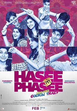 romantic comedy film wikipedia hasee toh phasee wikipedia