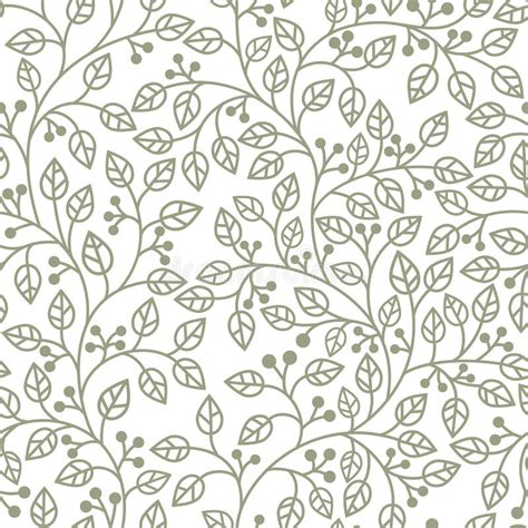 grey leaf pattern wallpaper grey leaves ornament stock photo image 17504200