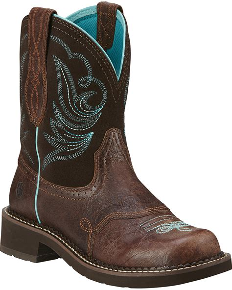 womens ariat fatbaby boots ariat s fatbaby heritage dapper western boots boot