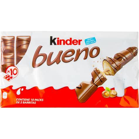 Kinder Bueno 21 5g X 2pcs kinder bueno milk chocolate and hazelnut bars 10 pack x 2