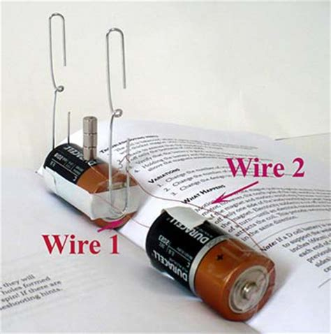 simple electric circuit materials build a simple electric motor