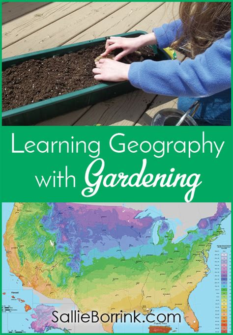 learning geography learning geography with gardening sallieborrink