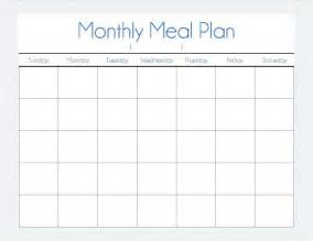 monthly meal plan our way of normal