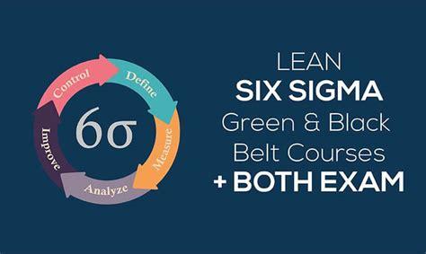 Lean Six Sigma Green Belt Bu Mba Certification by Iassc Lean Six Sigma Green Black Belt Courses Both