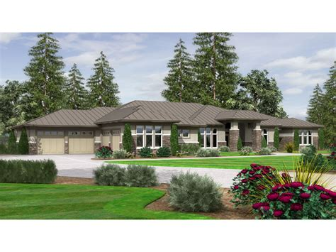 contemporary prairie style house plans prairie style homes ranch home plan 043d 0070