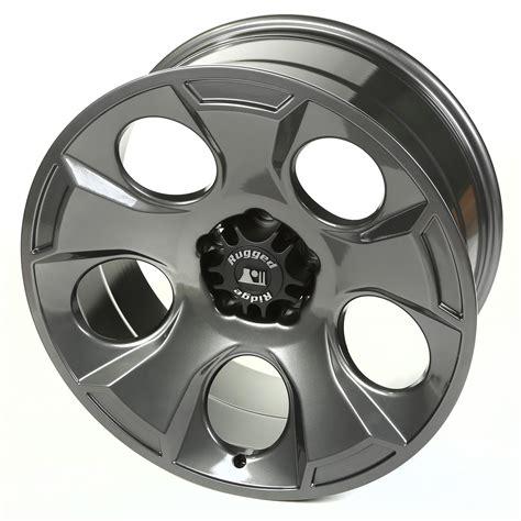 rugged ridge steel wheels drakon