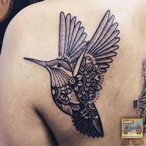 tattoo mandala bird hummingbird tattoo tattoos hummingbird blackwork