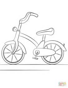 bicycle coloring pages preschool bicycle coloring page free printable coloring pages