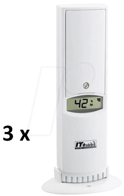 Hygrometer Thermometer Digital Ruangan Tfa Dostmann Germany ws 303060 klima home radio thermo hygrometer at reichelt elektronik