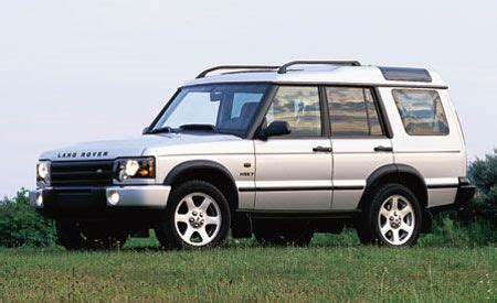 how make cars 2004 land rover discovery transmission control land rover discovery hse7 instrumented test car and driver