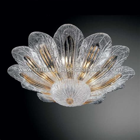 Murano Glass Light Fixtures Quot Talita Quot Murano Glass Ceiling Light Murano Glass Chandeliers