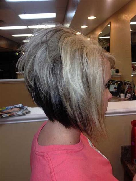 bob hairstyles with height on crown 25 best ideas about stacked bob short on pinterest