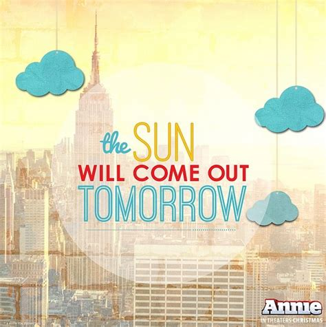 The Sunll Come Out Tomorrow by Jumps Into Social Media Babble