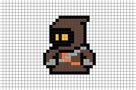 wars pixel templates wars jawa pixel brik